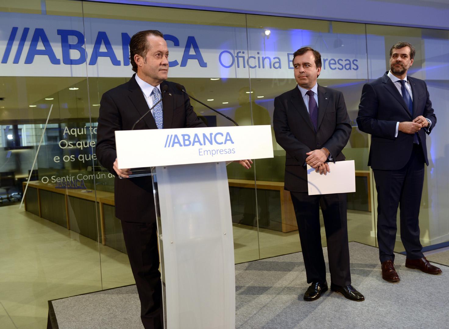Abanca abre una nueva oficina de empresas en vigo for Oficinas banco pastor vigo
